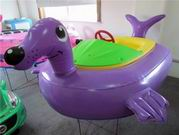 Attractive Design Purple Fur Seal Bumper Boat for Water Sports